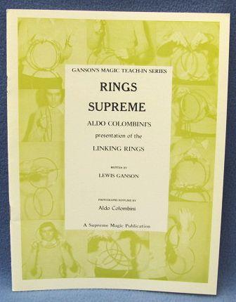 Rings Supreme by Lewis Ganson