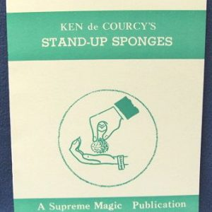 Stand Up Sponges by Ken de Courcy