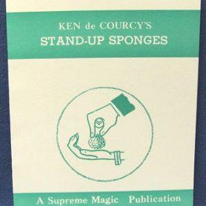 Stand Up Sponges by Ken de Courcy