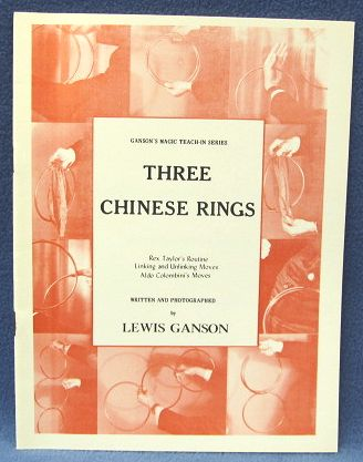 Three Chinese Rings by Lewis Ganson