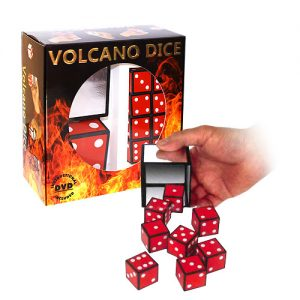 Volcano Dice by Joker Magic