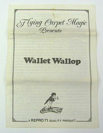 Wallet Wallop by Hen Fetsch