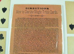 Antique Magic Cards and Original Instructions-2