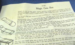 Adams' Magic Coin Box-4