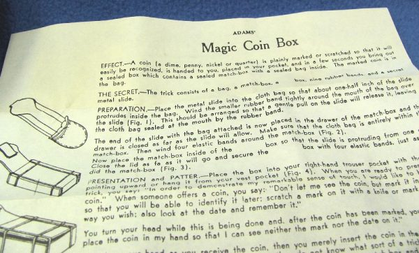 Adams' Magic Coin Box-4