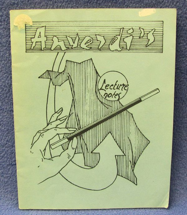 Anverdi's Lecture Notes - Signed
