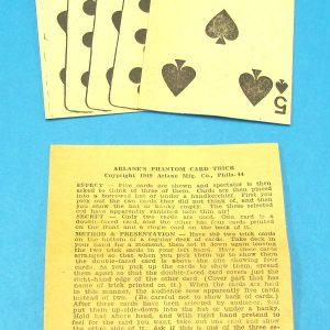 Arlane's Phantom Card Trick