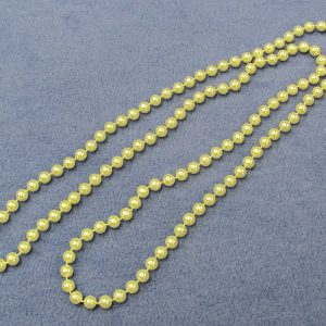Bead Necklace - White