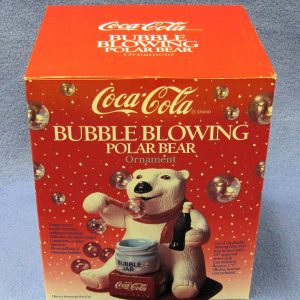 Coca Cola Bubble Blowing Polar Bear