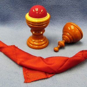 Deluxe Wooden Ball and Vase