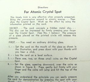 Directions For Adams' Atomic Crystal Spot - White Paper-2