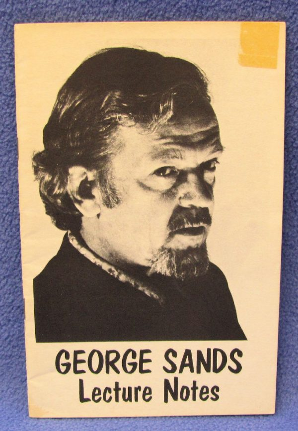 George Sands Lecture Notes-2 Signed