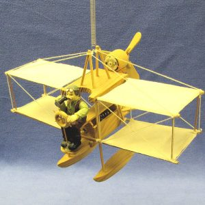 Hanging Motion Bi-Plane Novelty