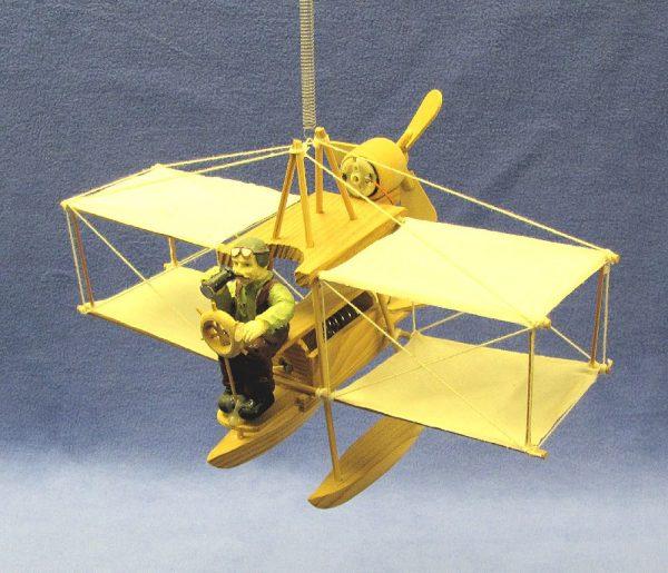 Hanging Motion Bi-Plane Novelty