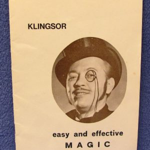 Klingsor Lecture Notes - Easy and Effective Magic