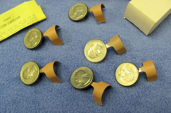 Lot of 6 Vintage NOS Adams' Coin Catchers For Quarters-2