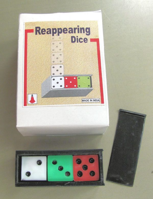 Reappearing Dice - Plastic