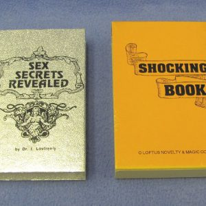 Shock Book - Loftus Novelty and Magic Company