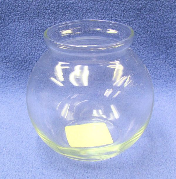 Small Glass Fish Bowl - Anchor Hocking