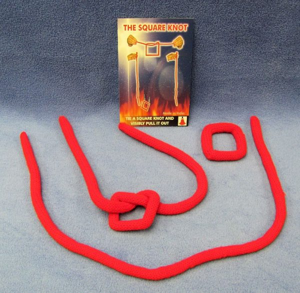 Comedy Square Knot With Extra Rope