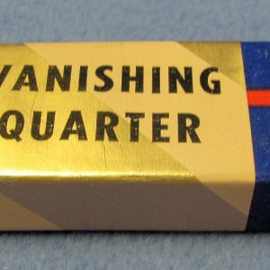 Vanishing Quarter - Box and Gimmick Only