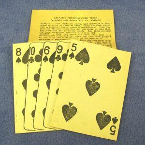 Vintage - Arlane's Phantom Card Trick