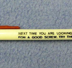 Adult Comedy Screwdriver Pen