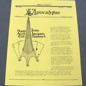 Apocalypse Vol 4 Number 7 July 1981