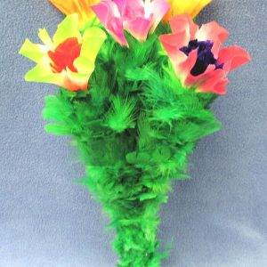 Blooming Bouquet - Double - Cloth Flowers