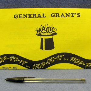General Grant's Hop To It Pen