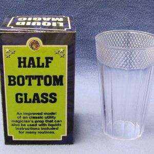 Half Bottom Glass