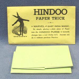 Hindoo Paper Trick (Vintage)
