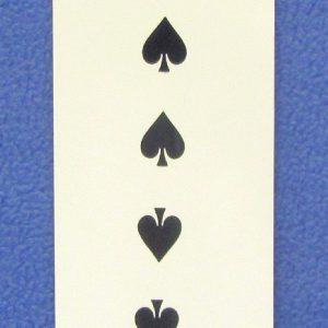 Double Sided Loooong Card (Royal)