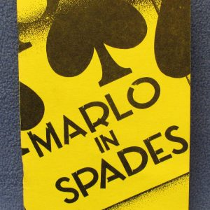 Marlo in Spades 2nd Printing 1964