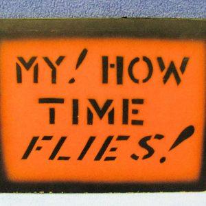 My How Time Flies Folder U. F. Grant