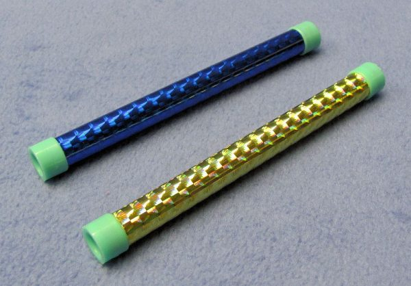 Pair of Small Reflective Design Wands