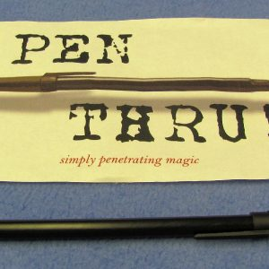Pen Thru!