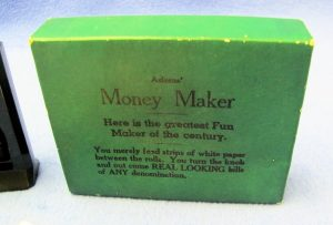 Vintage Adams' Black Money Maker With Box-2