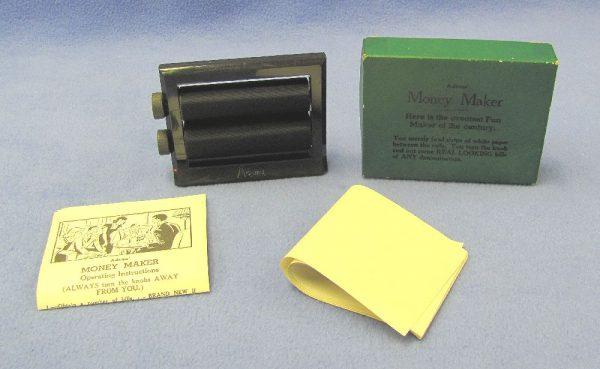 Vintage Adams' Black Money Maker With Box