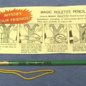 Vintage Adams' Holetite Pencil (Green)