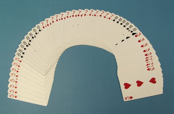 Bicycle Poker Size Deck With 5 Sets of Duplicate Values (Red Backs)