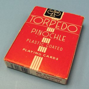 Torpedo Pinochle Deck (Red Backs Poker Size)