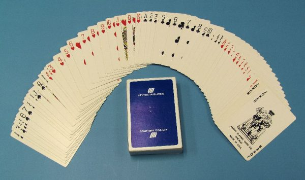 United Airlines Playing Cards