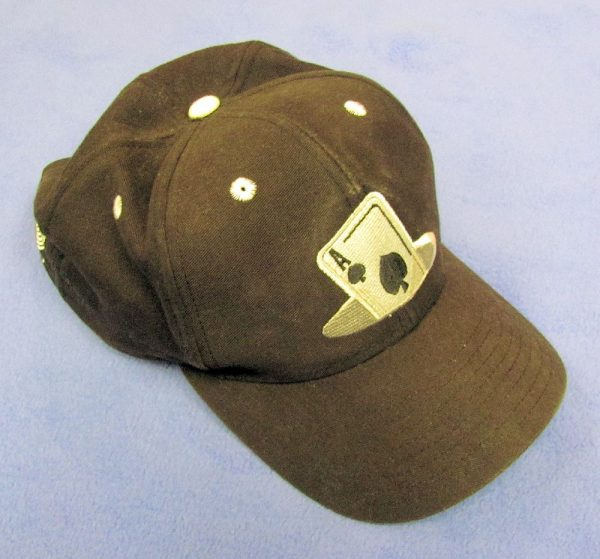 Baseball Cap With Ace of Spades