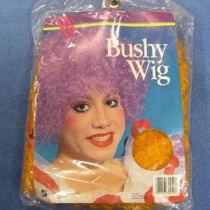 Bushy Clown Wig (Orange)