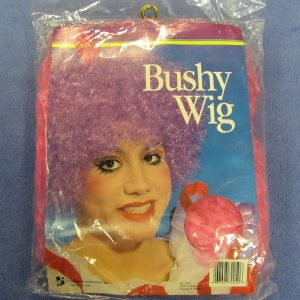 Bushy Clown Wig (Pink)
