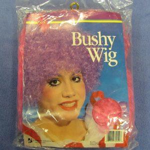 Bushy Clown Wig (Pink)