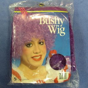 Bushy Clown Wig (Purple)
