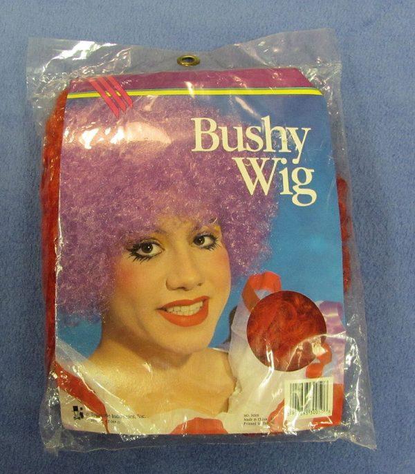 Bushy Clown Wig (Red)