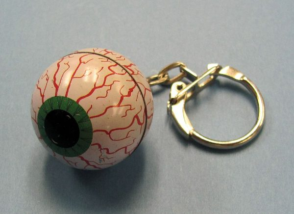 Eye Ball Key Chain